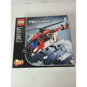 Lego Technic Rescue Helicopter Building Kit Age 8+